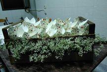 caja deadera con conos de arroz para bods