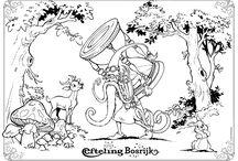 Efteling kleurplaten / De leukste kleurplaten van jouw favoriete Efteling-bewoners
