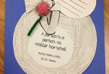 Horton Hears a Who crafts / by Deb Belany Cline