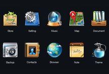 Creative icon/button