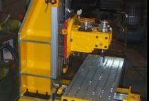 Drilling, milling, turning