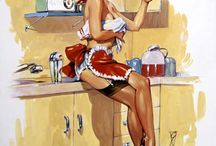 kitchen pin-up