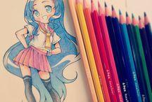 색연필 그림