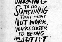 Being an artist*2018