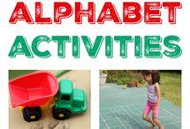 Buchstaben spielerisch lernen Kinder
