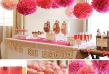 BABY SHOWER INSPIRATION | / everyone who plans to throw a baby shower or two, here are some ideas!