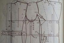 coat collar pattern