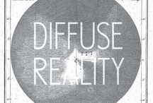 Diffuse Reality Records Label / Records Label