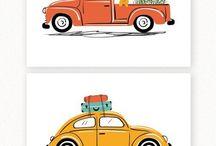 Art: Vintage Cars