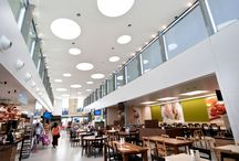 Food Court / #shoppingcentre #shoppingcenter #food #break #breakarea #restaurant #eat #lunch #dinner #design #mall #retail