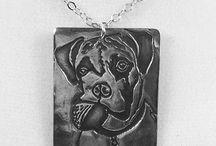 Custom Pet Portrait Necklaces