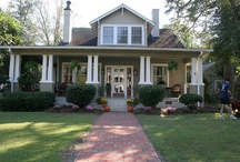 DREAM HOME! Craftsman, Southern Shotgun, Bungalow + some random. / My dream home since my late teens has always been a Craftsman style home. The older I get the more I love and want this style home.  / by Andrea Beenen