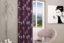 Vorhänge / Ideen für Vorhänge, Einrichtungsideen und Vorstellung schöner Vorhänge
