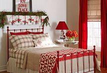 karácsonyi hálószobák