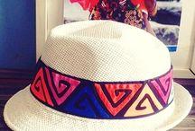 sombreros. carnavaleras