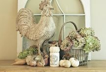 Decorating with Roosters
