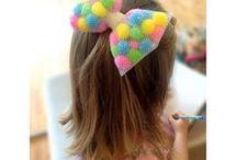 lacos de cabelo