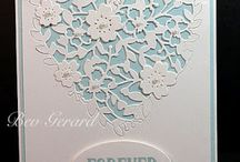S U Blooming Heart / stampin up blooming heart die set makes