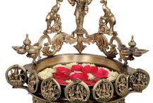 Brass Items / Beautifull Traditional idols made of brass