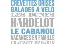 """My place """"La Côte d'Opale"""" / et surtout Hardelot"""