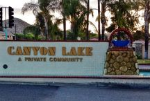 CANYON LAKE, CALIFORNIA / A private community -- a little piece of paradise.