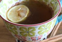 Teas and Drinks / Warm up with hot teas and drinks that are healthy and comforting.