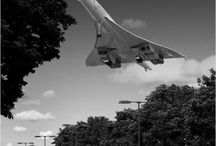 Concorde / A board dedicated to the brilliant Concorde aeroplane.  Way ahead of its time...