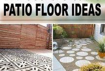 Patio floor ideas