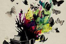Farfalle / Colore e vita