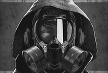 Latex, Gas Masks, HR