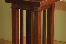 base para mesa de living en caño estructural