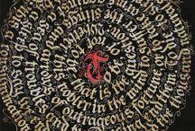 Calligraphy - on circle