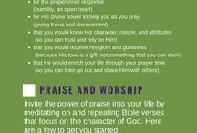 How to Worship God / Do you want to know how to make a war room or looking for bible verses on prayer? Here you'll find everything to encourage your prayer time with God.