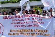 Demo Geradin Terkait RUU Advokat / Demo Dukungan Pengesahan RUU Advokat menjadi UU Advokat