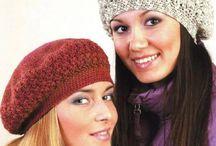 Boinas, gorros, bonnets, crochet