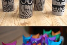 Toilet paper roll ideas