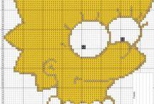 Los Simpsons / Punto De Cruz