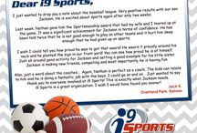 Dear i9 Sports / We love hearing from our i9 Sports families.Here are some of our favorites!
