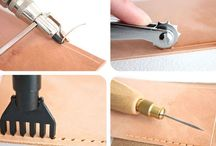 // leather working