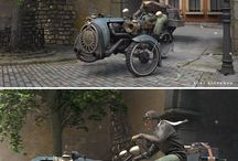 Diorama moto