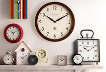 Tick Tock / A clock is an essential item in any house, whether it be a small desk clock to keep track of the time, or a large wall clock as a statement piece. Here is where you can find the perfect clock for your home.