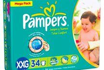 Pampers Total Confort Mega / Excelente performance por um preço mais acessível. Tamanhos: P a XXG