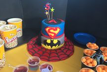 Pinterest inspired Superhero party / My 5 year old's Superhero party - thanks for all the help Pinterest