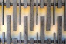 Japanese wood fence
