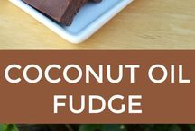 Coconut oil fudge