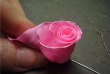 virág készítése