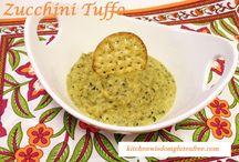 Zucchini Tuffo / Kitchen Wisdom Gluten Free Zucchini Dip http://kitchenwisdomglutenfree.com/2015/09/16/zucchini-tuffo-forget-what-you-know-about-wheatc-2015/