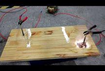 ηλεκτρισμός σε ξύλο