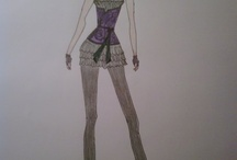 Design Illustrations / These are some of my Design Sketches...My Dream fashion line...