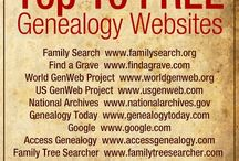 Genealogy / My family history search